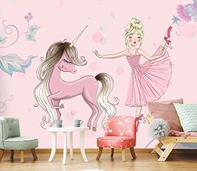 پوستر دیواری اتاق دخترانه